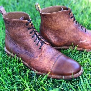 Taft Shoes - TAFT Rome Boot in Brown - EU Size 44 (US Size 11).